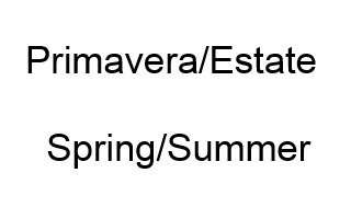Primavera/Estate