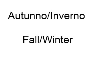 Autunno/Inverno
